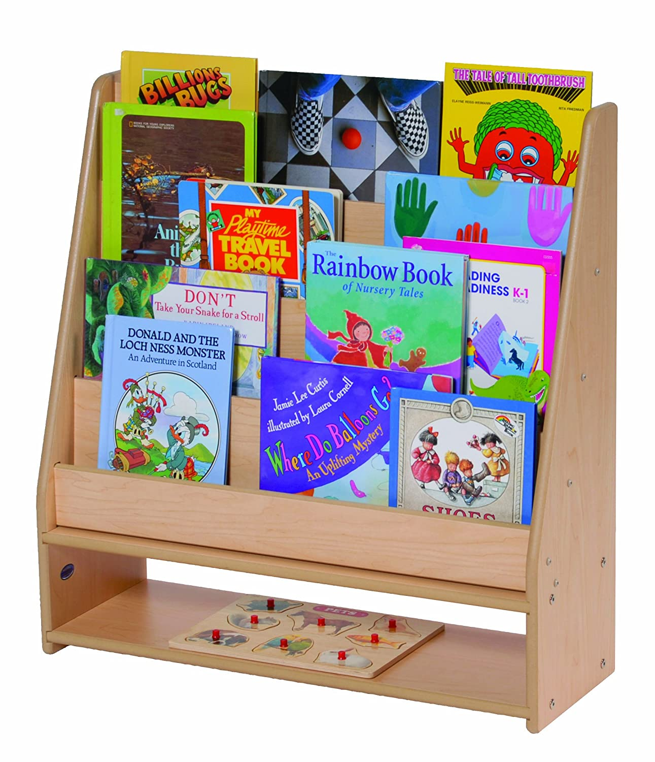 Steffy Wood Products Book Display 1291 x 1500