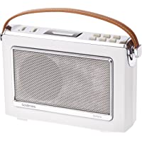 Goodmans Vintage OXFORD DAB+ Digital FM RDS Radio (Porcelain White)