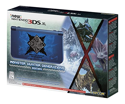 Nintendo New 3DS XL - Monster Hunter Generations Edition