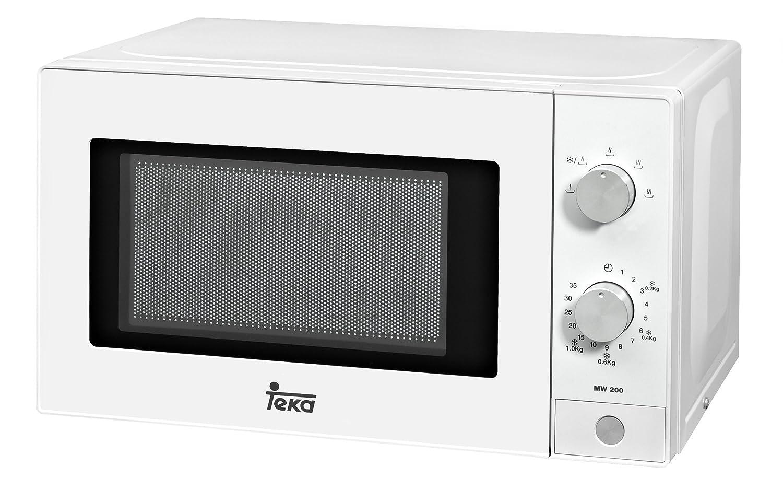 Pequeño y económico microondas sin grill