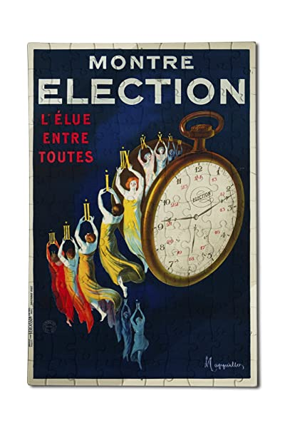 Montre Election poster, 1922