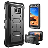 i-Blason Galaxy S7 Active Case, [Armorbox] Built in [Screen Protector] [Full Body] [Heavy Duty Protection ] for Samsung Galaxy S7 Active 2016 Release/NOT Compatible with Galaxy S7 (Black) (Color: Black)