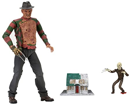Neca - Figurine Freddy Krueger - Freddy Krueger Ultimate Dream Warriors 18cm - 0634482398890