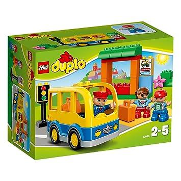 LEGO DUPLO LEGOville-thème Ville - 10528 - Jeu De Construction - Le Bus Scolaire