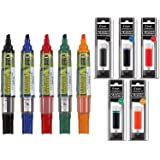 Pilot BeGreen Dry Erase Marker Assorted 5pk Plus 1 Refill For Each Marker (5 Refills in Total) (Tamaño: Markers + Refills Bundle)