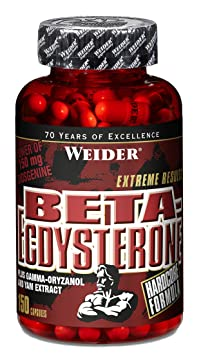 Weider Beta-Ecdysteron- 150 Kapseln, 1er Pack (1 x 174 g)