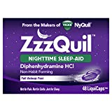 Vicks ZzzQuil Nighttime Sleep Aid, 48 LiquiCaps