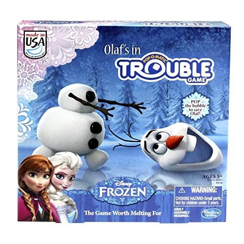 Frozen Olafs in Trouble Game
