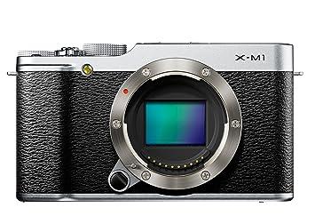 """Fujifilm XM1 Appareil photo numérique compact hybride 16,5 Mpix Écran LCD inclinable 3 """" Zoom optique 3x Boîtier nu Argent"""