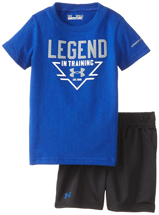 Amazon.com: Under Armour Baby Boys' Legend In Training Set, Royal ...