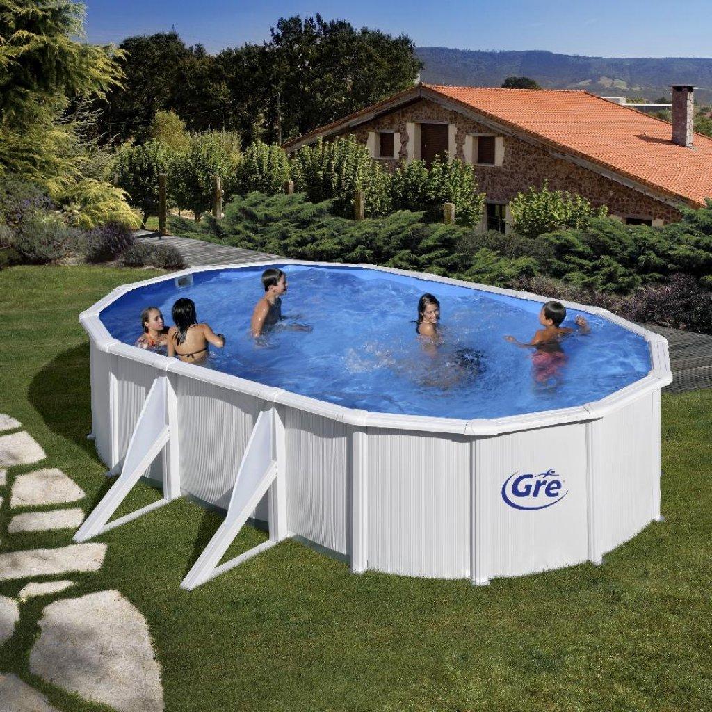 Gre Schwimmbad 610 x 375 cm