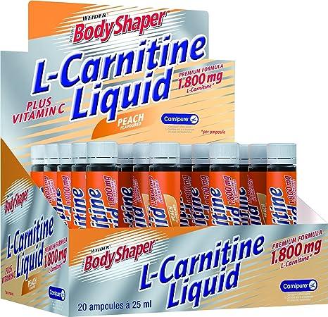 Weider L-Carnitine Liquid 1.800, Pfirsich, 500 ml, 38546