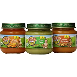 Earths Best Organic Stage 1, My First Veggies Variety Pack - 12 Count
