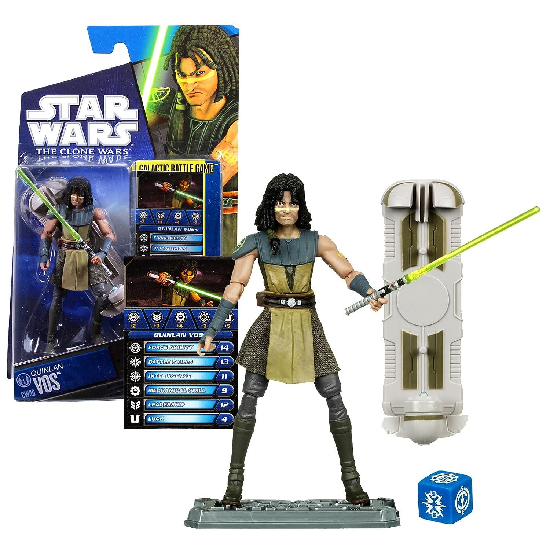 Star Wars the Clone Wars Quinlan Vos CW 36 25277 online bestellen