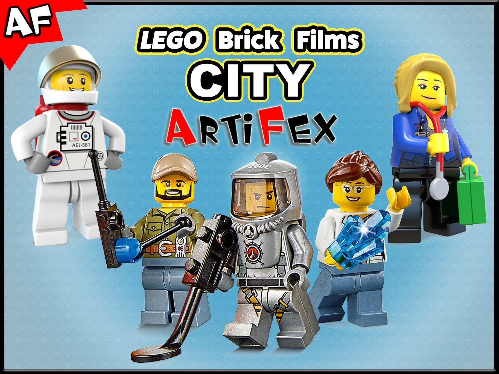 Clip: Lego Brick Films City - Season 1