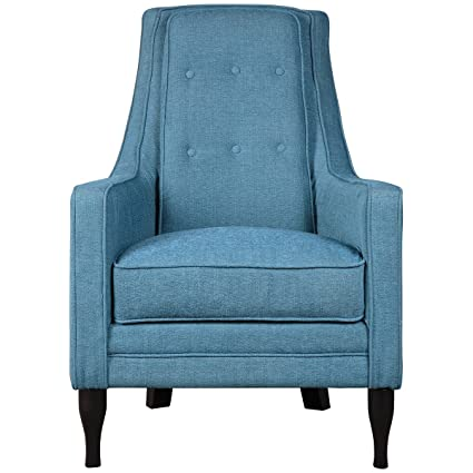 Uttermost 23192 Katana Armchair, Peacock Blue
