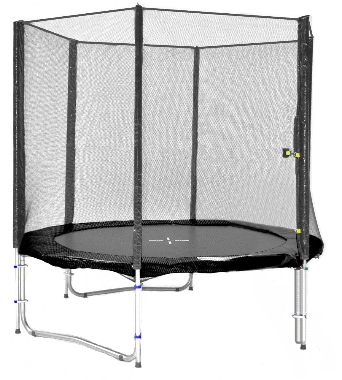 SB-185-S Professionell Gartentrampolin 185cm incl. Netz,Leiter 90kg Traglast bestellen