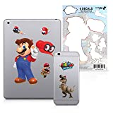 Controller Gear Super Mario Odyssey - Character Tech Decal Pack - Hats Off - Nintendo Wii; GameCube