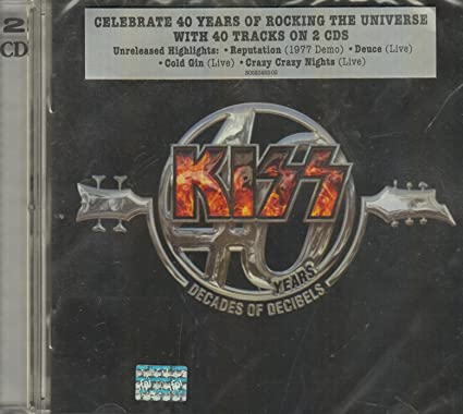 BUY -  KISS 40 YEARS DECADES OF DECIBELS 2 DISCS