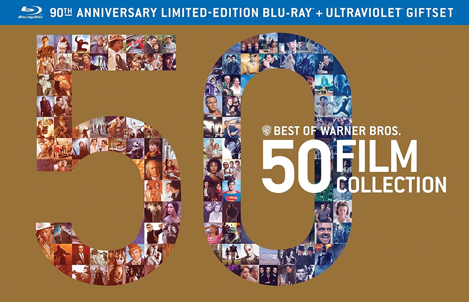 Best of Warner Bros 50 Film Collection (+UltraViolet Digital Copy) [Blu-ray] $184.99