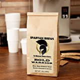 BOLD WARRIOR Coffee - Warrior Approved & Preferred - by Spartan Brews Coffee Co., Ground Coffee - Dark Roast
