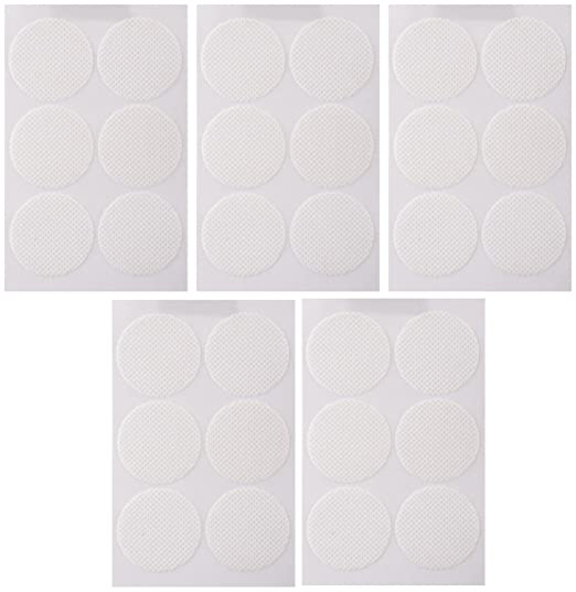 Being Safe Mosquito Repellent - Classic White - 30 Patches (White, Pack of 5)