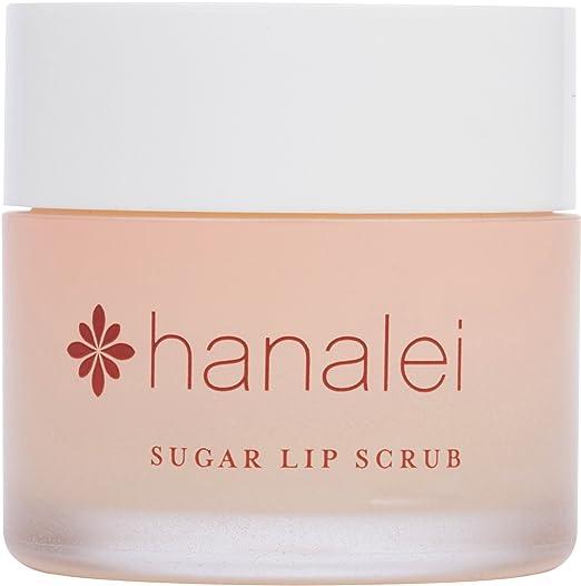 Maui Sugar Lip Scrub with Kukui Nut Oil by Hanalei Beauty Company (Cruelty-free) Net Weight 22g