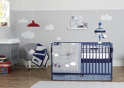 Just Born Retro Ride Crib Bedding