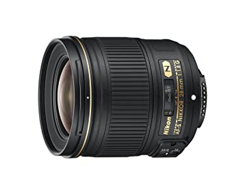 Nikon 2203 28mm f/1.8G AF-S NIKKOR Lens at amazon