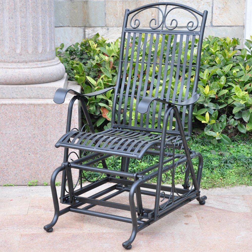 Wrought Iron Double Patio Rocker image
