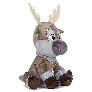 Disney 37327 Frozen 2 Sven Soft Toy-46cm, Brown (Color: Brown)