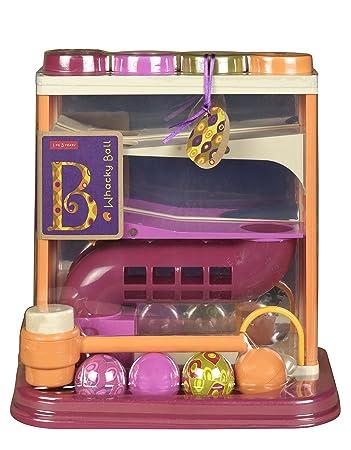 B Toys - BX1013Z - Jouet de Premier Age - Jeu de Balle et de Ballon - Whacky Ball