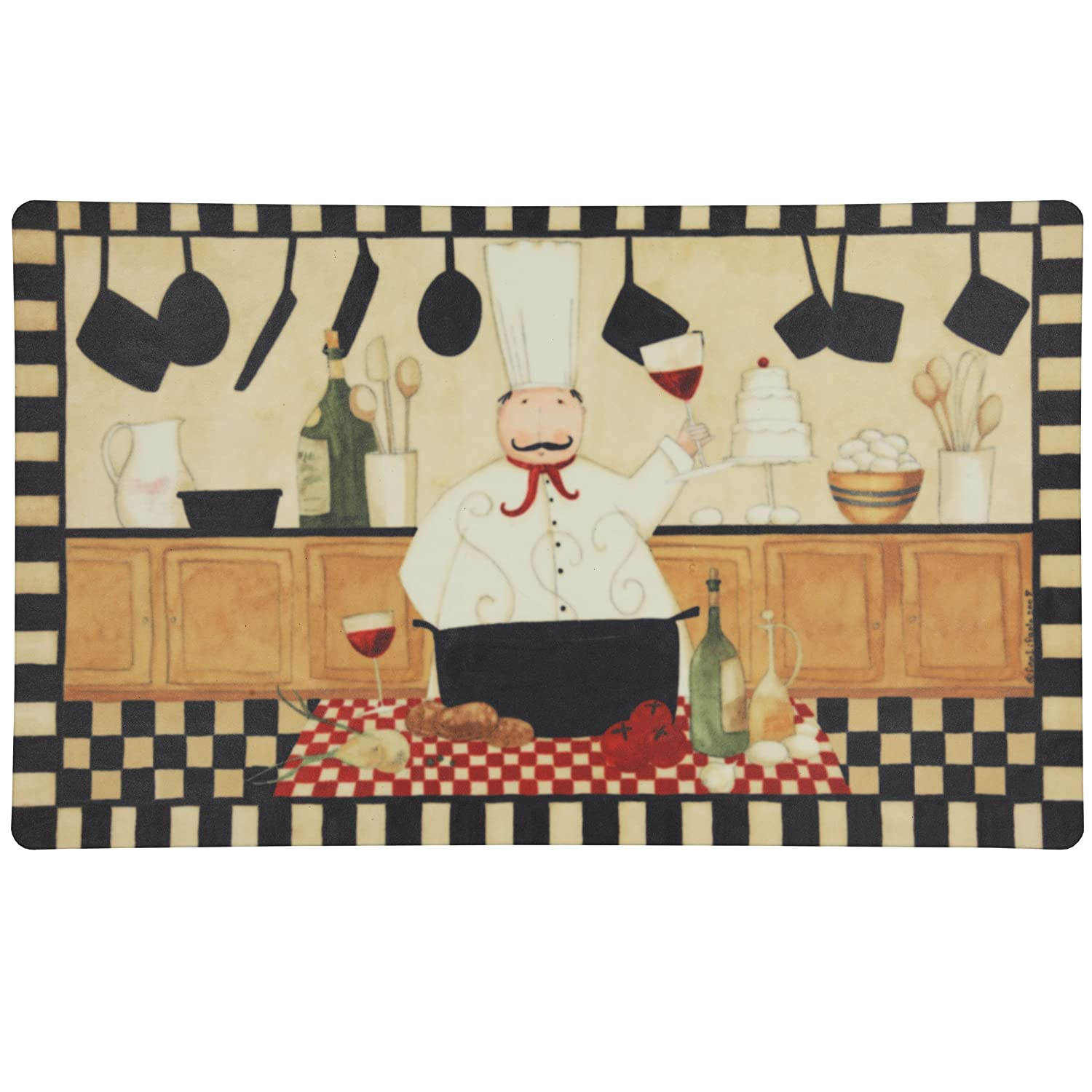 Fat Chef Kitchen Accessories: Fat Chef Italian/French Kitchen Decor : Kitchen Chef 18