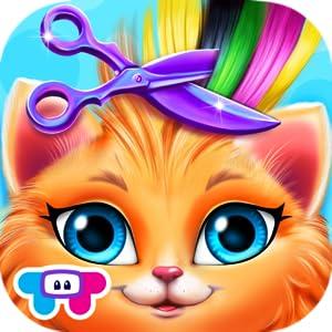 Amazon.com: Crazy Cat Salon - Furry Makeover: Appstore for