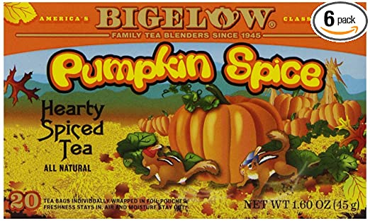 Celestial Spice Tea Bigelow Pumpkin Spice Tea