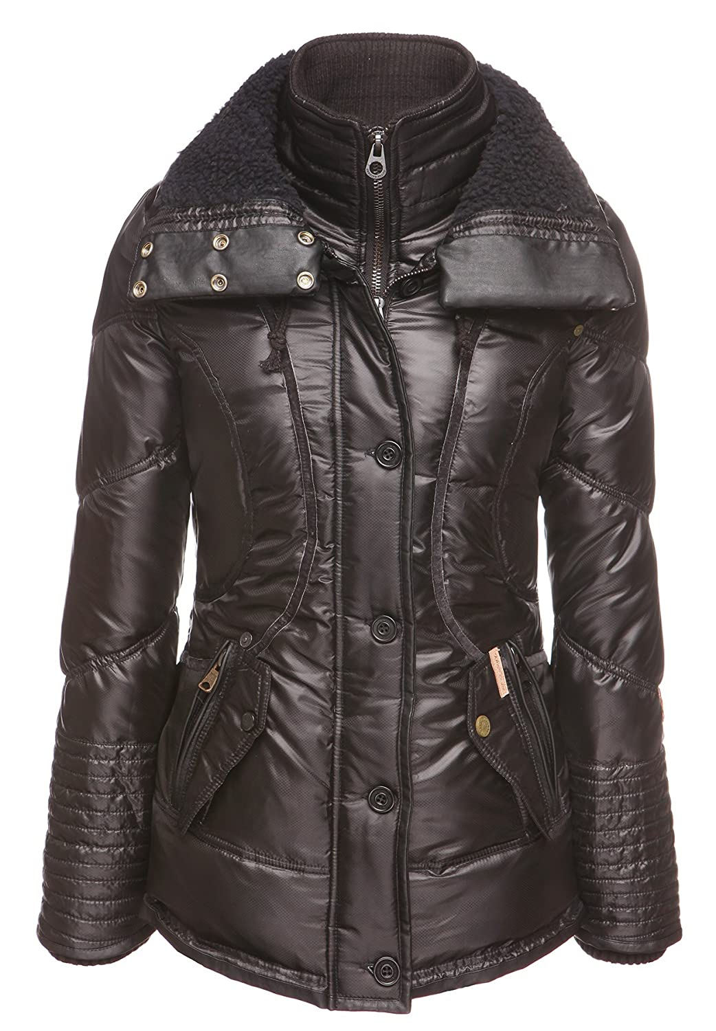 khujo Damen Jacke GUNNEL WITH INNER JACKET 1208JK153J_P1 kaufen