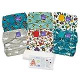 Bambino Mio, miosolo cloth diaper set, mixed (Color: Mixed)