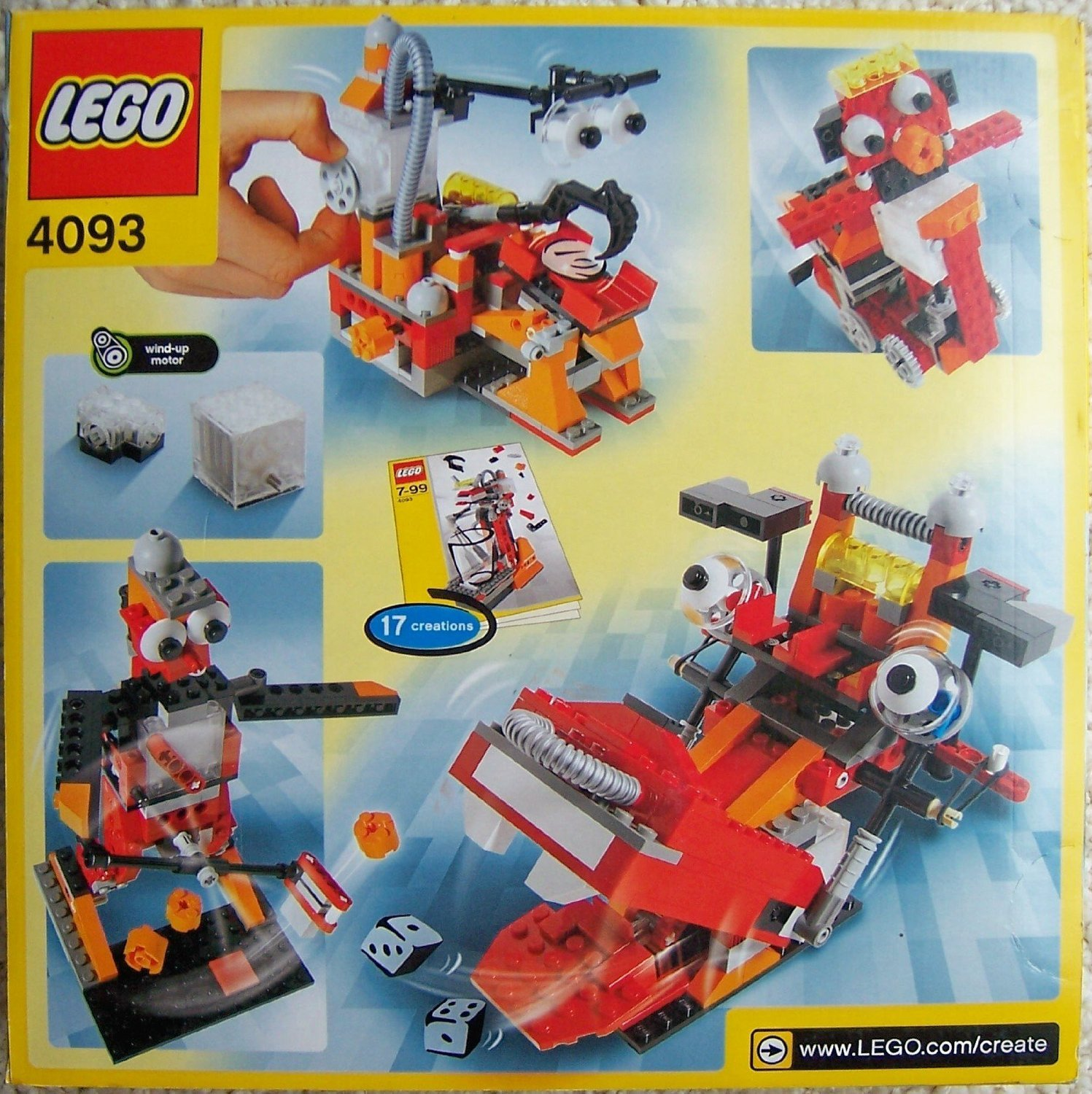 LEGO ( LEGO ) Inventor 4093 Wild Wind-up toy block ( parallel imports )