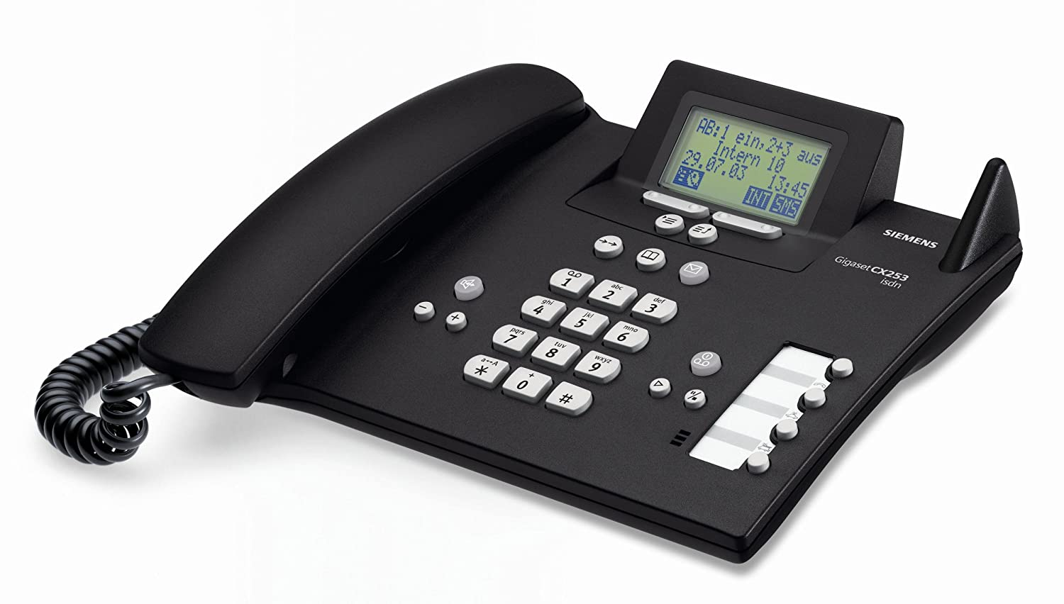 siemens gigaset cx 253 isdn basis telefon mit. Black Bedroom Furniture Sets. Home Design Ideas