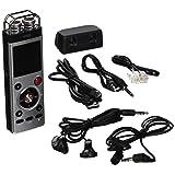 EMB Professional EVR9 8GB Portable Handheld WMA/MP3 Digital Stereo Audio Voice Recorder w/ SD/USB
