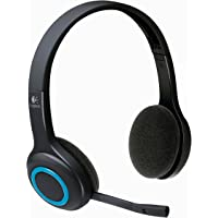 Logitech H600 Wireless Headset for PC and Mac (Black)