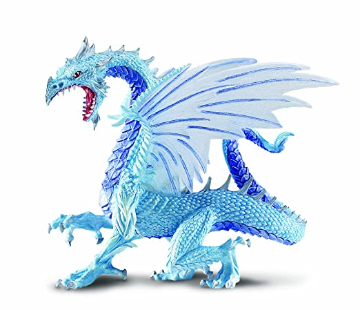 Amazon.com: Safari Ltd Ice Dragon: Toys & Games