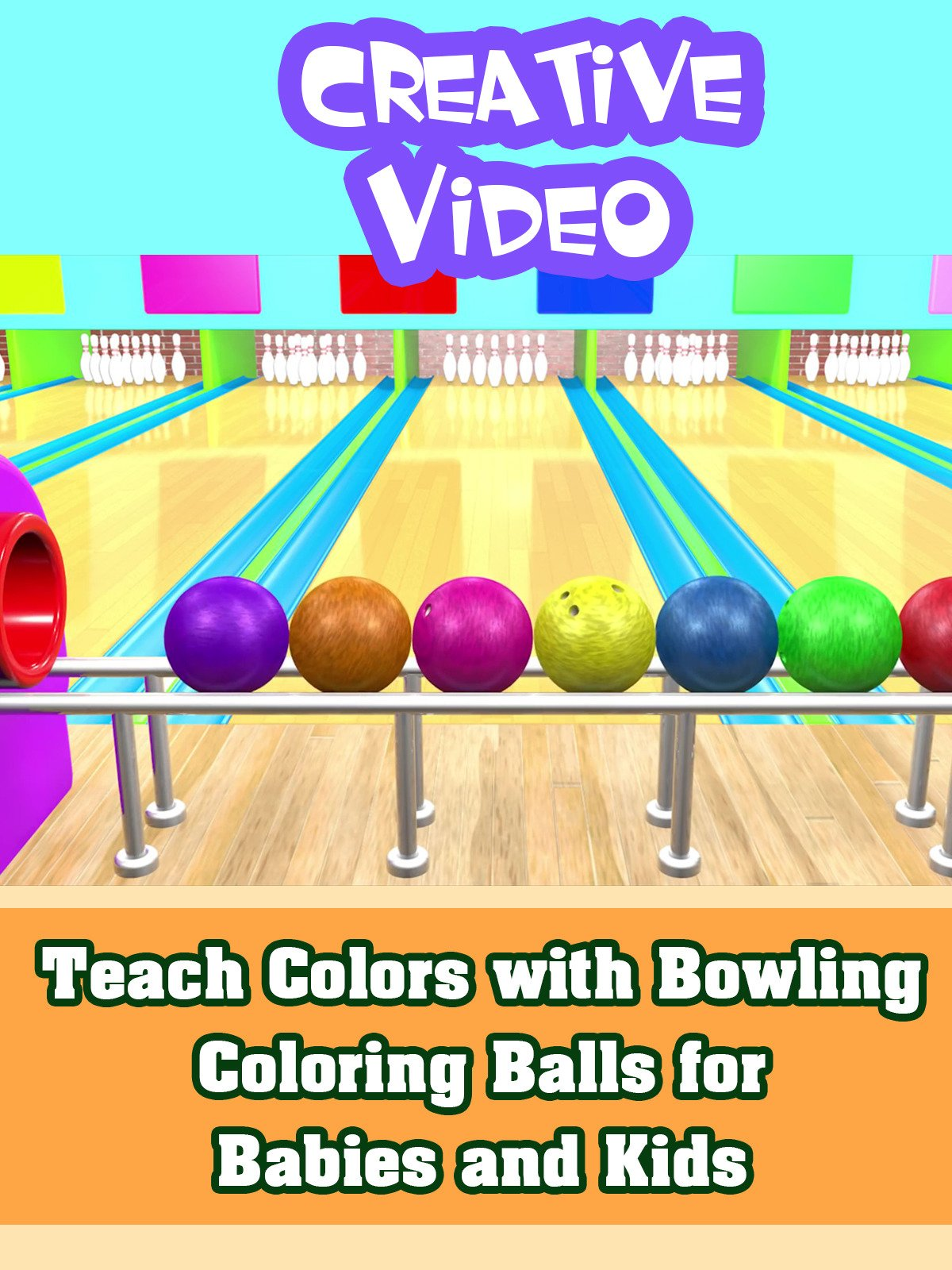 Teach Colors with Bowling