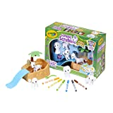 Crayola Scribble Scrubbie Safari Animals Tub Set, Color & Wash Creative Toy, Gift for Kids, Age 3, 4, 5, 6 (Color: Vary)