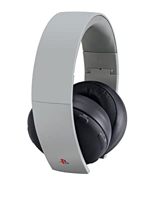PlayStation Gold Wireless Stereo Headset -  20th Anniversary Edition (Color: Gray - 20th Anniversary)