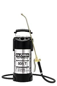 Gloria Drucksprüher Hochleistungssprühgerät Edelstahl 5Liter 505T, silber  GartenKundenbewertung und Beschreibung