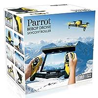 Parrot Bebop Drone 1400万画素 魚眼レンズ カメラ付 クワッドコプター スカイコントローラーセット (イエロー)