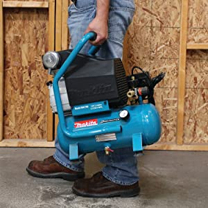 Makita MAC700 Big Bore 2.0 HP Air Compressor (Color: Teal & Black)