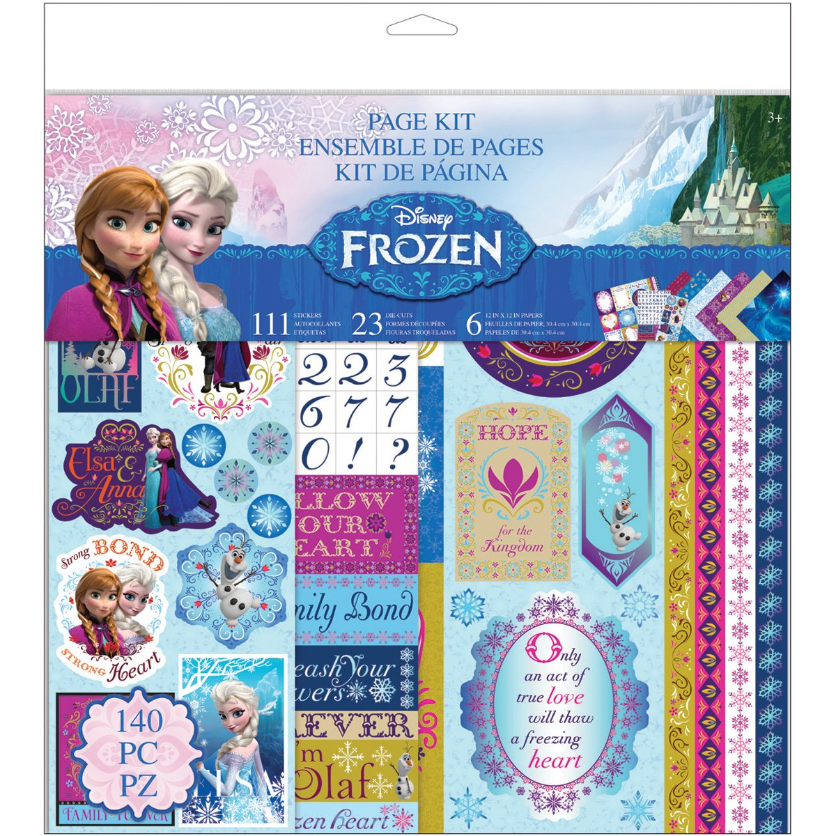 Disney Frozen Page Kit 12X12 кольца page 1