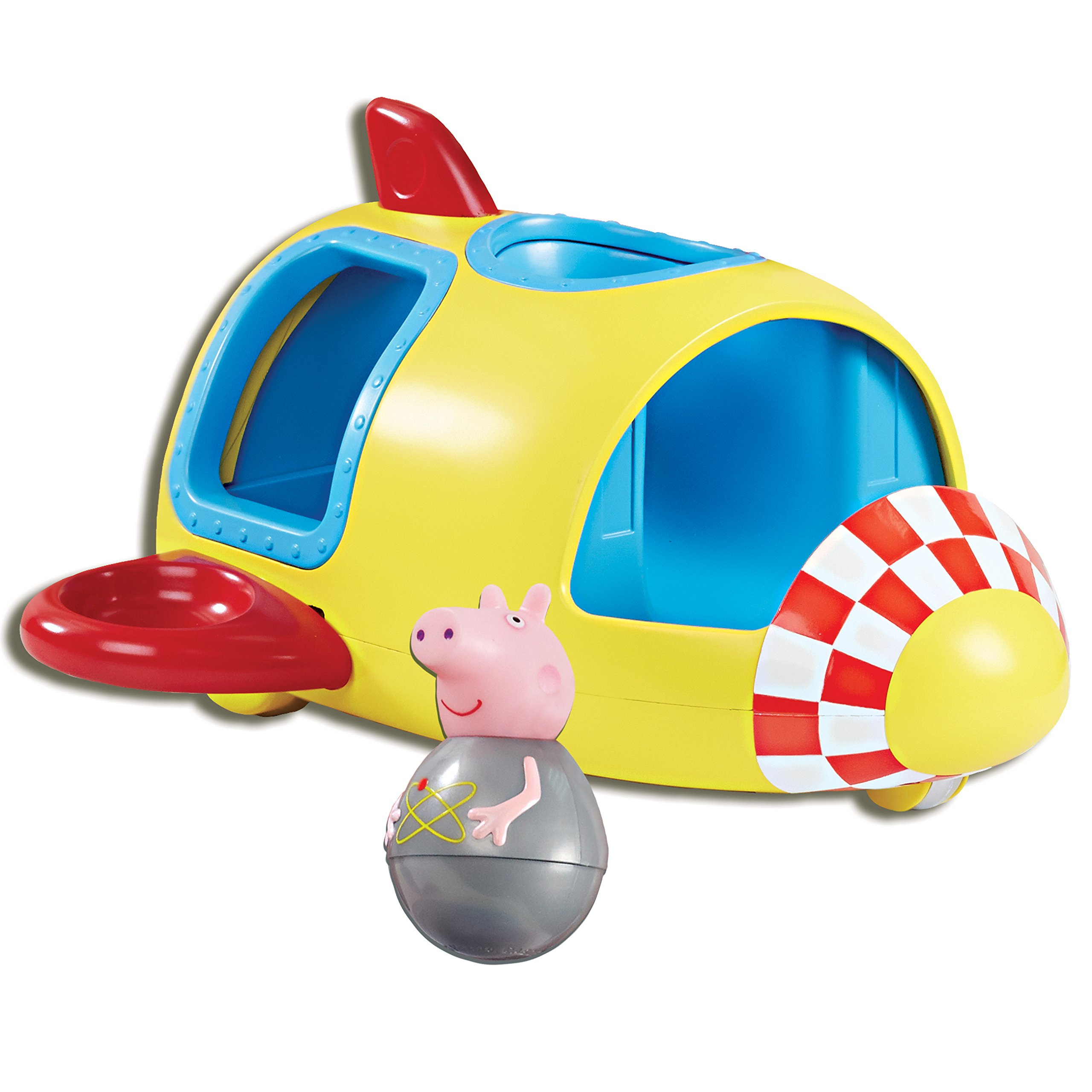 Push Rocket for 'wibble wobble' motion Peppa won't fall down Includes ...